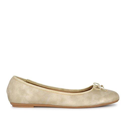 Fitters Ballerina Stella Gold Metallic / Ballerinas Ballerinen