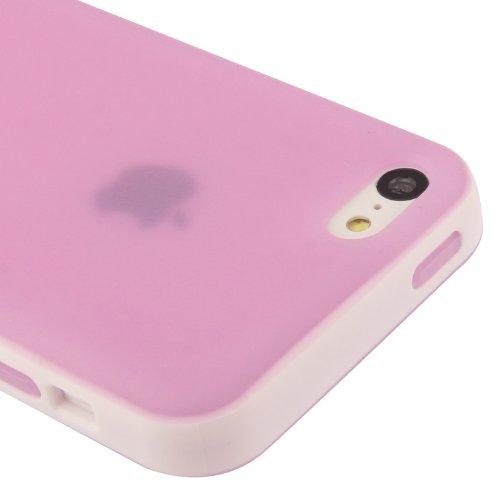 iPhone 5C Hülle / Case / Cover in lila aus hochwertigem TPU (Silikon) -ORIGINAL nur von THESMARTGUARD-