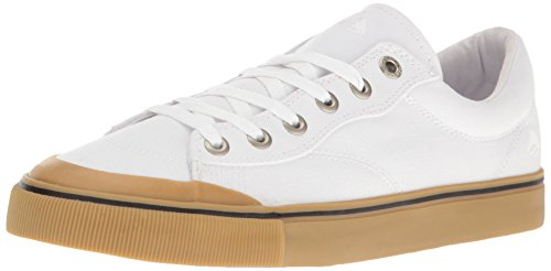 Emerica Indicator Low, Color: White/Gum, Size: 42.5 Eu / 9.5 Us / 8.5 Uk