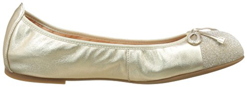 Ballet Platino Unisa Closed Platino Gold Toe Flats LMT Auto 18 Women's SwqRqY7H