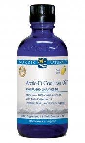 Nordic Naturals - Arctic-D Cod Liver Oil (Lemon) - 16oz
