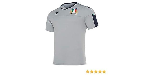 Macron Fir Italia Rugby - Camiseta de entrenamiento 6 Naciones ...