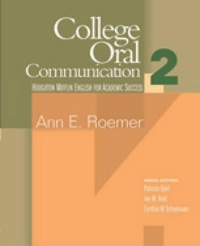 College Oral Communication 2 (English for Academic Success) (Bk. 2)