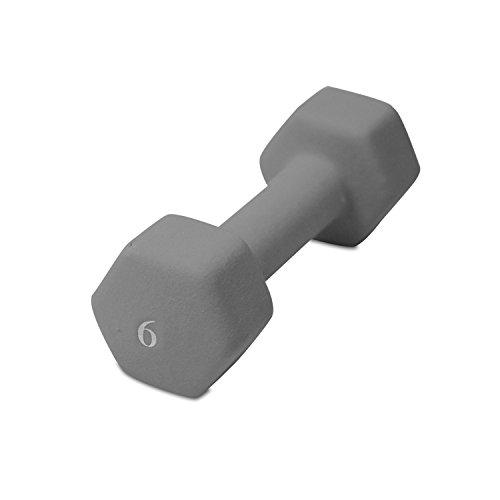 UPC 702556130490, Cap Barbell Neoprene Dumbbell (Gray, 6-Pound)