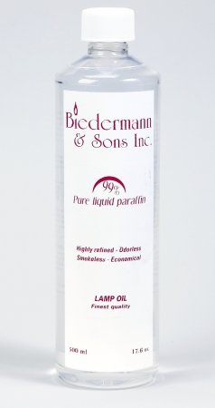 Biedermann Sons M21C Ultra-Pure Lamp Oil Case Pack - Clear