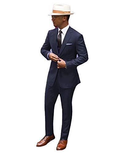 Jingmo 2 Piece Classic Suits for Men by Jingmo