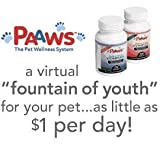 PAAWS Dog Vitamins: Dogs 7 Years Older, Under 35lbs, 1 Year Supply