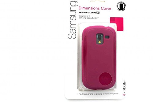 Body Glove Dimensions Duragel Cell Phone Case for Samsung Galaxy Exhibit 4G SGH-T599 - T-Mobile Packaging - Raspberry (Body Glove T-mobile)