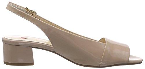 Högl 1- 10 2104 - Sandalias de Talón Abierto Mujer Beige - Beige (1800)