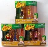 EL CHAVO - 6 Figure Collection (El Chavo, Quico, Popis, Don, Nono & La (Eli Collection)