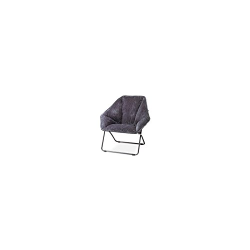Gray Hexagon Folding Dish Chair