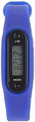 ghfcffdghrdshdfh Braccialetto Sportivo Multifunzione Pedometro Activity Tracker Polsino in Silicone Blu