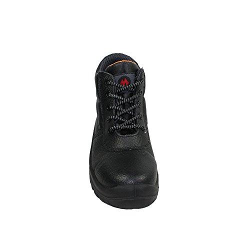 Piel Negro AIMONT para de Calzado de negro negro protección hombre awwISq0H