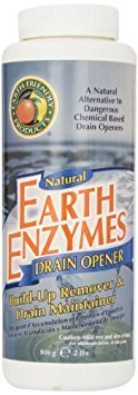 Earth Enzymes Natural Drain Opener, 32 oz (2-Pack)