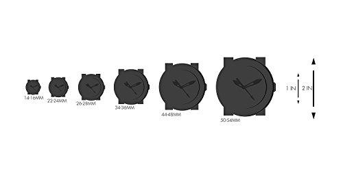Mist Men's Analog Watch Color: White
