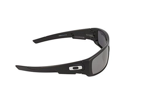 9993b583375a Oakley Men's Crankshaft Sunglasses,Polished Black - Import It All
