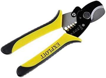 YKJ-YKJ 家の修理に適した、すなわち屋外産業メンテナンス多機能デュアル使用のケーブルプライヤーセット(カラー:イエローブラック、サイズ:7インチ) ペンチ