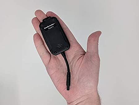 with Built in Back-up Battery Real-time Hardwired Tracker Ideal for Your Boat-Motorcycle-Jet ski-Drone-ATV-Generator or Any Vehicle. Easily concealable TrackmateGPS Hydro 3G Waterproof