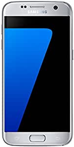 Samsung Galaxy S7 SM-G930F 32GB Factory Unlocked GSM 4G LTE Single Sim Smartphone - International Model (Silver)