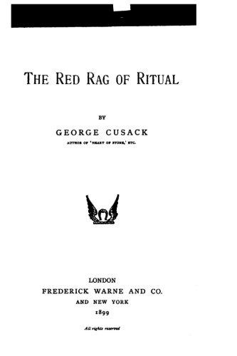 The Red Rag of Ritual pdf