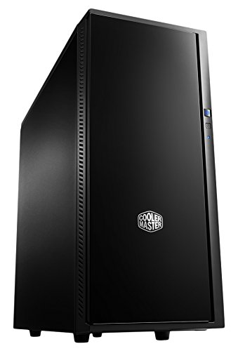 Cooler Master Silencio 452 Mid Tower Chassis (Black) (Cooler Master Silencio Case compare prices)