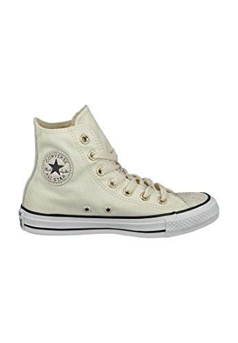 Leiste 551608c Converse Chuck All Schuhe 40 Toile Egret 10a Parchment Noir De Huile Chucks Beige Slick Damen Taylor Star vpagwp