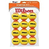 Wilson Low Compression Tennis Balls, Case of 12 Balls, 4 cans, 3 Balls per Can