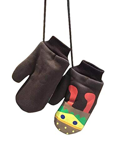 East Majik Girls' and Boys' Cute Cartoon Mittens Student Warm Gloves #5]()