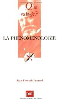 La phénoménologie par Lyotard