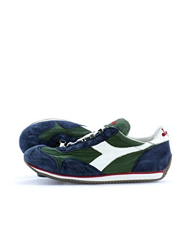 12 Stone Equipe Wash Diadora Green Adults' Unisex Sneakers faqSg1xt