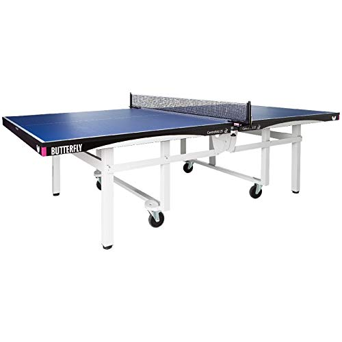 Foldable Ping Pong Table.Butterfly Centrefold 25 Table Tennis Table Professional Ping Pong Table 25mm Indoor Folding Ping Pong Table Strong Frame Professional Ping