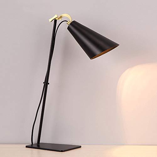 E27 Creativity Library Fixture Nordic Metal Lamp Adjustable Led Themonday Reading Art Iron Study Black Desk Light Modern Office Bedside Table rdCtoBhxsQ