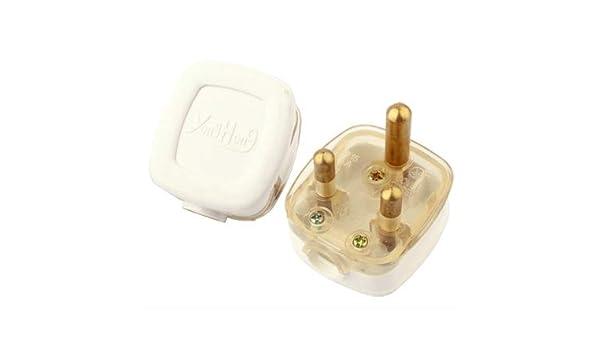 Plugs/Sockets Accesorios de energía, Pequeño Enchufe Adaptador de Corriente de Viaje de Sudáfrica: Amazon.es: Electrónica