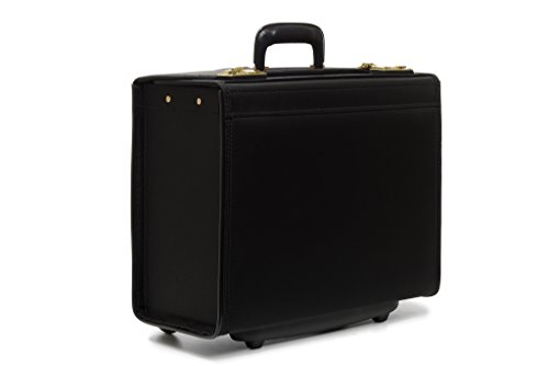 korchmar-captain-18-wheeled-catalog-case-c2125bl-black