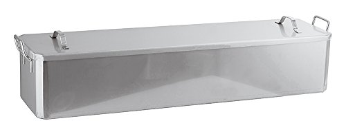 Paderno World Cuisine 39 3/8 Inch x 10 Inch Stainless Steel Fish Poacher