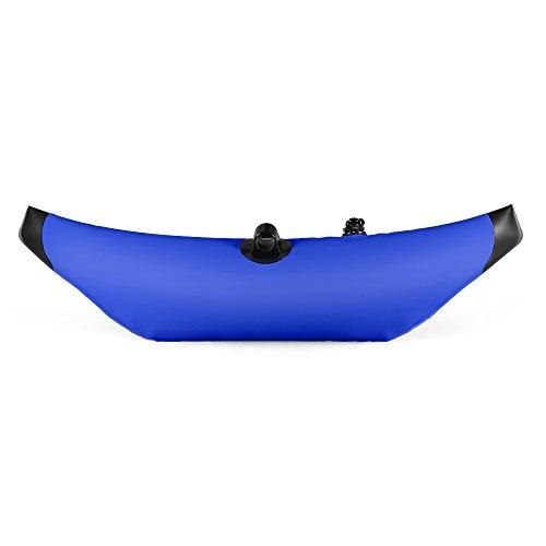 Lixada Kayak PVC Inflatable Outrigger Kayak Canoe Fishing Boat Standing Float Stabilizer System, Blue