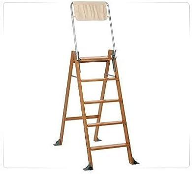 Foppapedretti Lascaletta 5 Escalera plegable Nuez - Escalera de mano (172 cm, 120 kg, 12,8 kg, 620 mm, 107 cm, 16 cm): Amazon.es: Bricolaje y herramientas