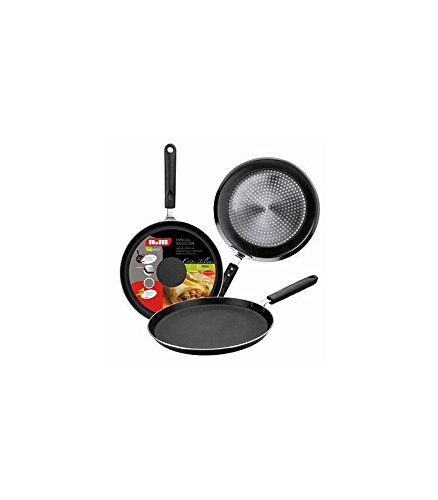 Crepe pancake pan for INDUCTION and all other hobs too 28 cm