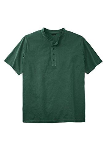 Tall Henley Lightweight Solid Tee, Hunter Tall-2Xl (Big And Tall Henley Shirts)