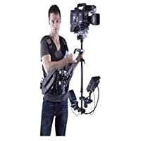 Wondlan LE402 Deluxe Steadycam With Vest44; Load-Bearing 6kg To 15kg