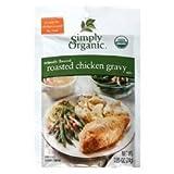 Simply Organic Roasted Chicken Gravy, Seasoning Mix 12x 0.85Oz by Simply Organic