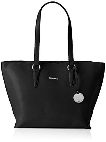 Tamaris Neve Shopping Bag - Bolso de Hombro Mujer Negro (Black 001)