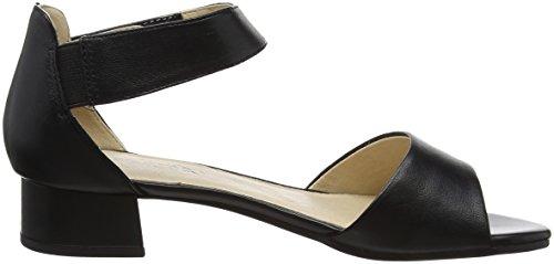 Caprice Dames 28212 Sandales Sangle Noir (noir Nappa 22)