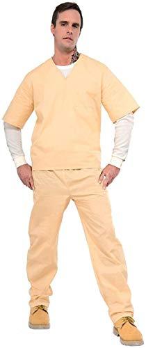 Forum Novelties Prisoner Suit, Beige, Standard -