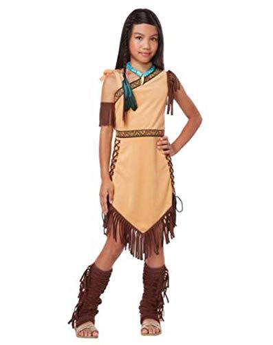 California Costumes Native American Princess Child -
