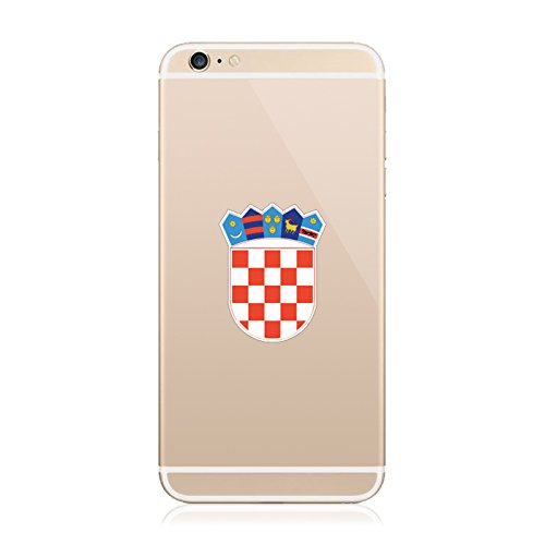 2X - Croatian Coat of Arms Cell Phone Sticker Die Cut Decal Self Adhesive FA Vinyl