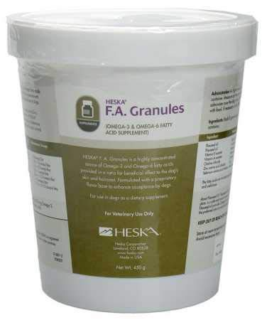 (F.A. Granules by Heska. 450 grams)