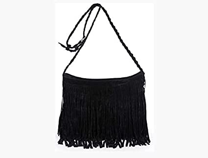 Amazon.com: 2018 Women Messenger Bags Handbags Fringe Tassel ...