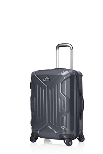Gregory Mountain Products Quadro Hardcase 22 Inch Roller, Slate Black, 22'' by Gregory