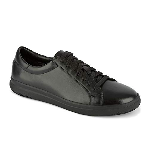 Dockers Mens Gilmore Leather Casual Fashion Sneaker Shoe, Black, 9.5 M